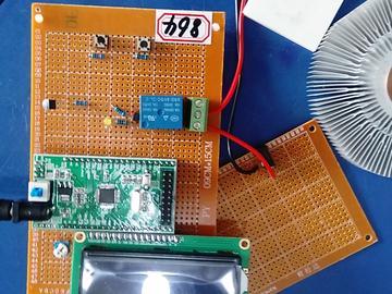 基于STM32单片机的半导体制冷装置设计-LCD1602-DS18B20-(源码+电路图)
