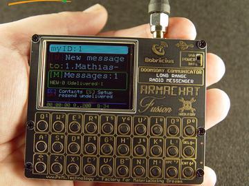 ARMAWATCH&ARMACHAT-远程无线电通讯工具