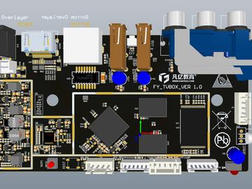 6层全志H3电视机顶盒PCB电路设计方案源文件(allegro/Altium/PADS)