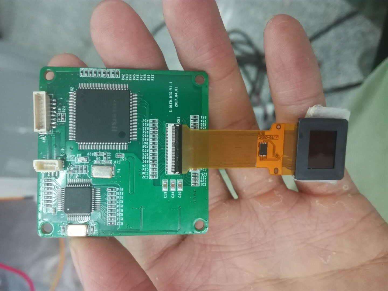 0.5寸OLED微显示屏驱动电路(含原理图)