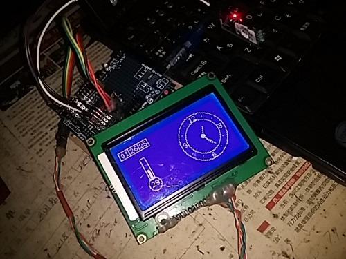 基于DS3231和AT24C02制作的液晶显示时钟