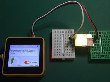 基于 ESP32 的二氧化碳浓度检测系统