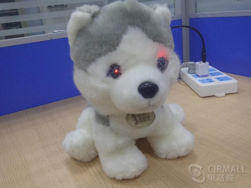 毛绒玩具电子宠物狗DIY制作,会聊天/唱歌/讲故事