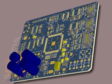 Cyclone4E FPGA EP4CE6E22C8 DA应用开发板硬件原理图+PCB工程+BOM