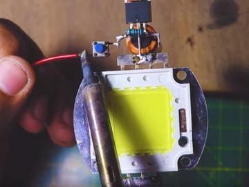 奇思妙想的LED定时电路设计