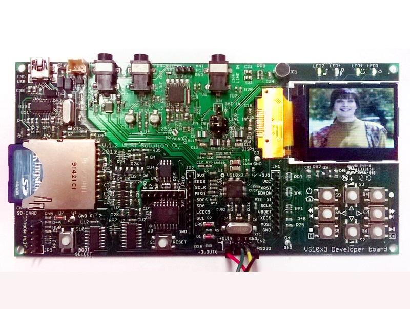 VS8053/VS1053/VS1063开发板硬件&软件全部开源
