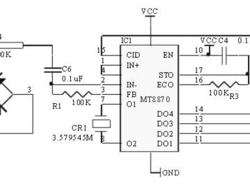 双音频解码电子电路设计