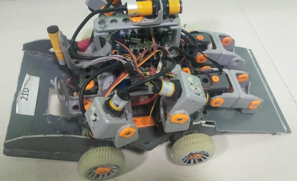 統一部件組1V1擂臺機器人