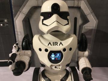 超酷,國外大神親手打造一個具備人工智能的星際大戰機器人Droid Trooper
