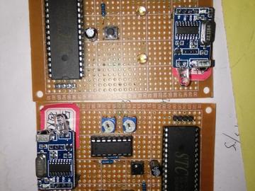 基于51单片机红外遥控PWM无极调光灯设计(原理图+源码+pcb+参考文档)