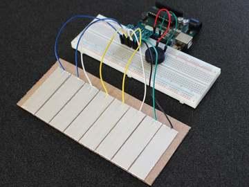 Arduino Tinfoil钢琴制作教程