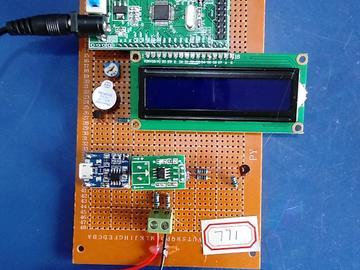 基于STM32单片机的锂电池充电设计-TP4056-ACS712-分压