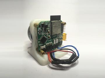 无刷电机控制器,用于通过无线通信进行速度和位置控制