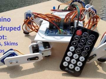 基于Arduino的四足机器人