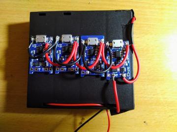 使用TP-4056的锂离子电池充电器
