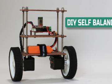 DIY自平衡机器人