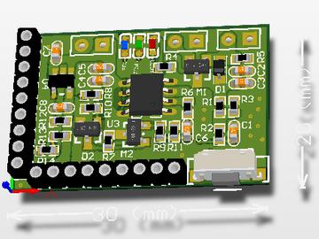 6V太阳能充电模块电路方案设计(原理图+pcb)