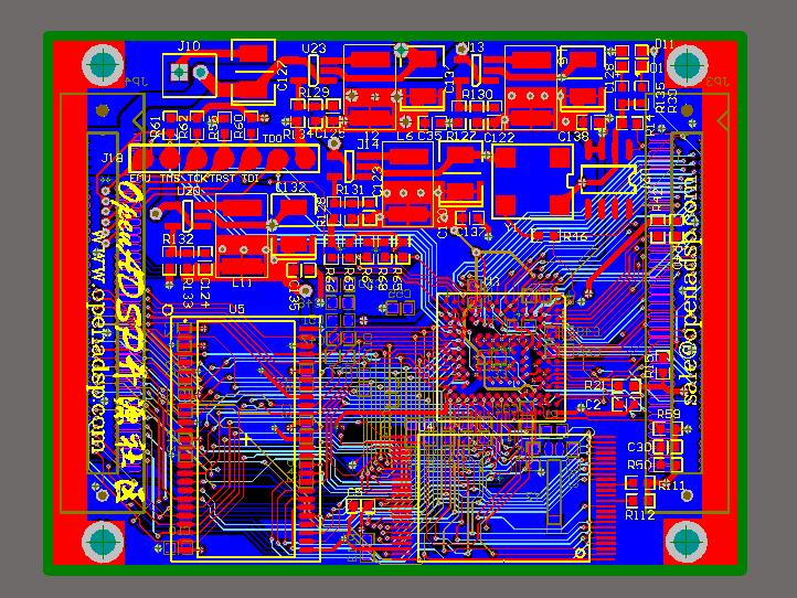 ADI ADSP-BF518/BF518F核心板完整PCB及电路图