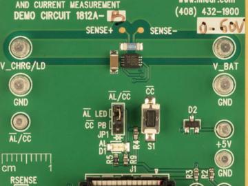 基于LTC2944具有温度、电压和电流测量功能的60V电池电量测量电路设计