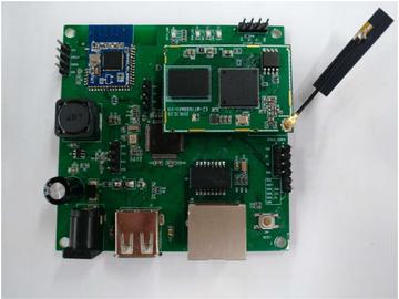 基于MediaTek 7688+Nordic 51822 显示屏智能控制盒方案