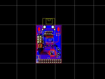 DM9000A以太网PHY模块 Protel 99se设计硬件原理图PCB文件