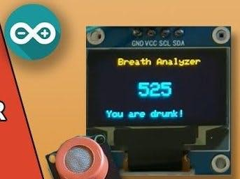 基于 MQ3 的酒精检测仪