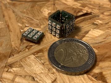 迷你LED立方体,54像素,WIFI和陀螺仪