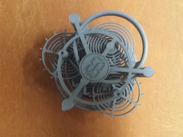 3D打印简单且小巧的陀飞轮模型