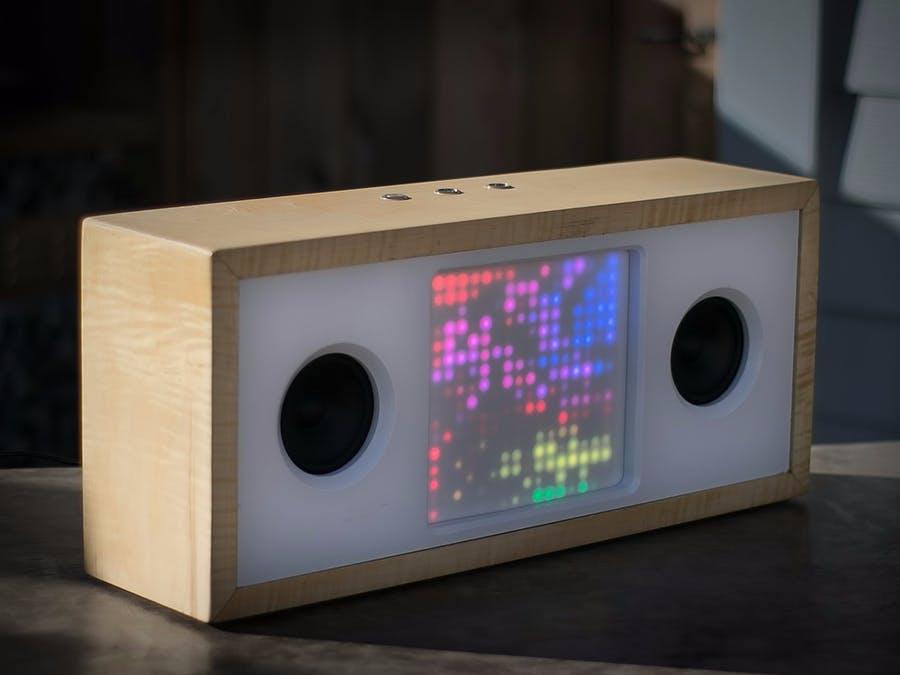 DIY一個帶有集成LED矩陣的藍牙音箱