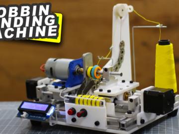 DIY基于Arduino的线轴绕线机