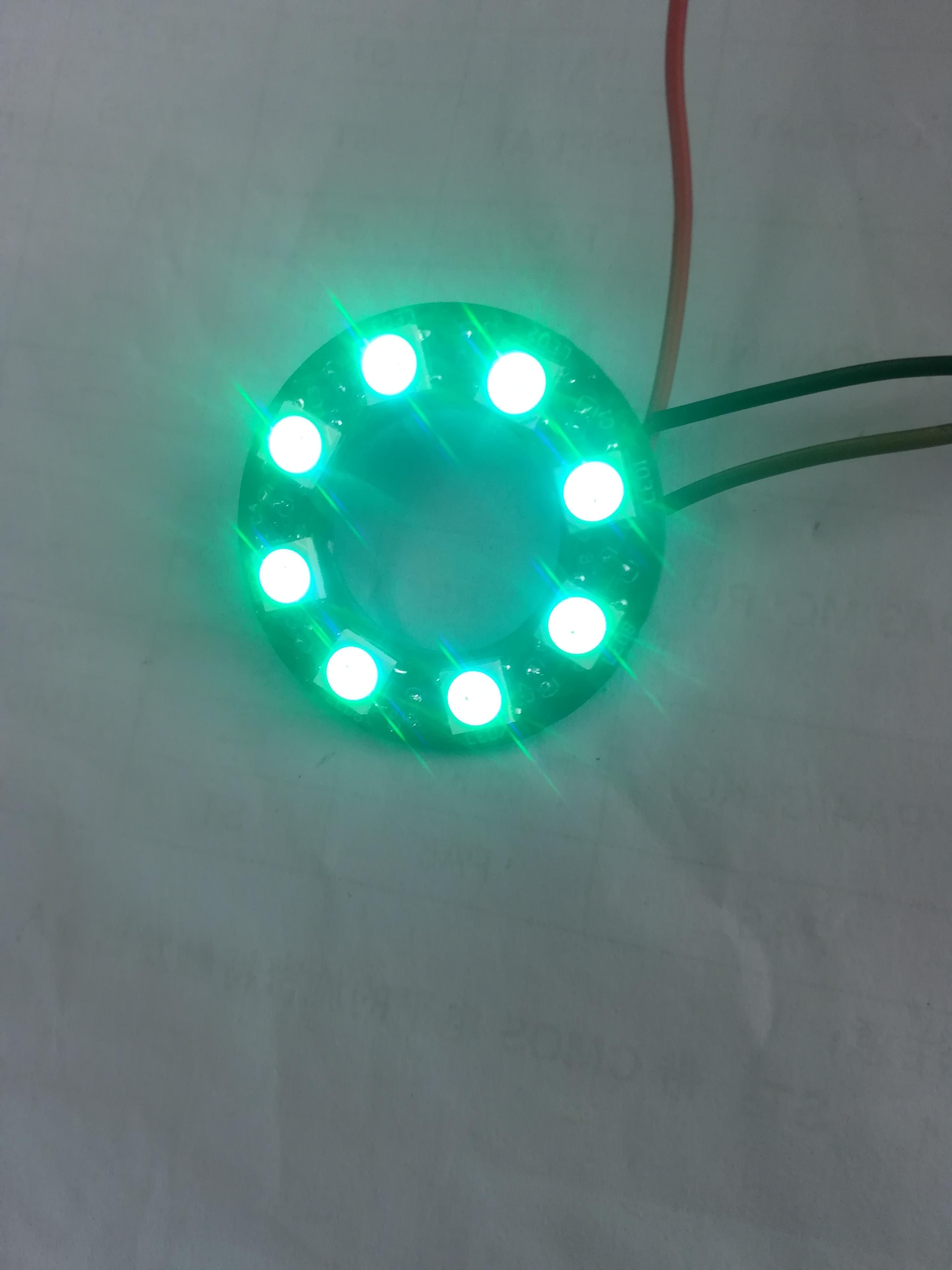 WS2812 灯板pcb,彩灯,呼吸灯驱动程序