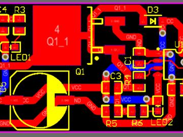 NE555直流电机PWM调速电路设计方案