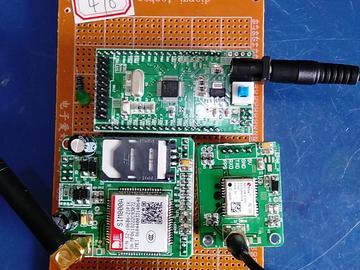 基于STM32单片机的儿童定位手环-GPS-GSM-心率-KEY-(电路图+程序源码)