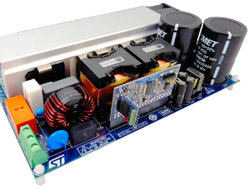 基于STNRGPF02 高效率交错式数位控制PFC的2KW服务器电源电路方案设计,附数据手册
