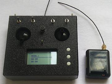 基于 ATmega328p 的无线电遥控器