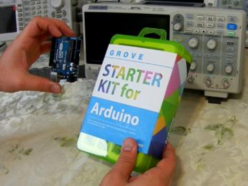 传感器+电机创造无限可能,基于Arduino的Grove入门套件评测