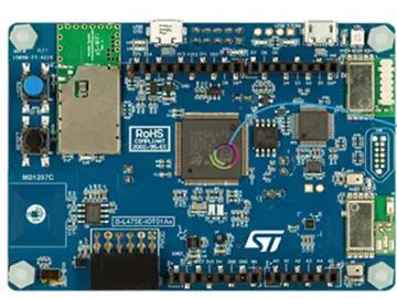 基于STM32L4与ATECC608A组合的安全物联网电路设计