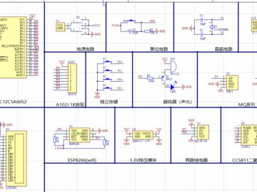 基于单片机的厨房有害气体监测系统的设计