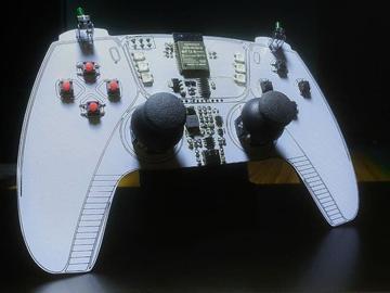 DIY使用ESP32的手持游戏手柄并通过BLE进行通信