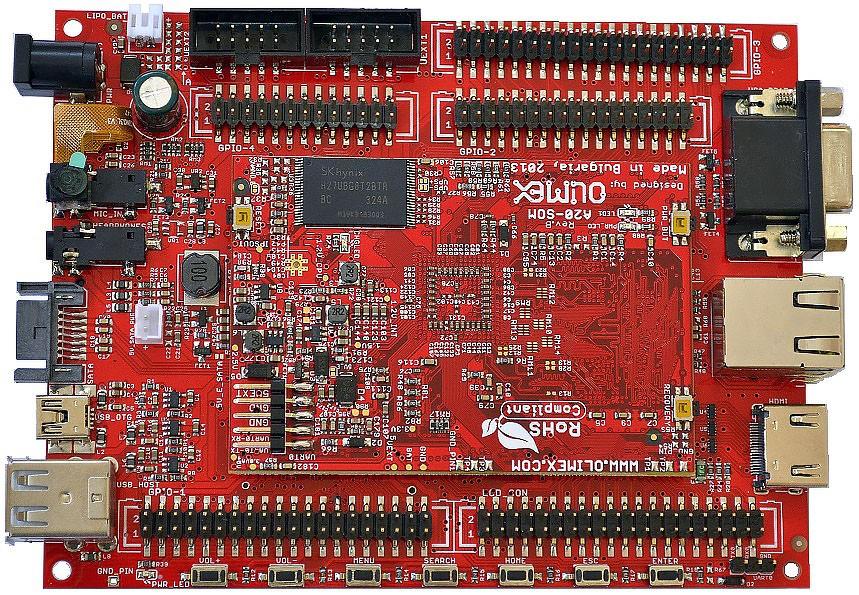 A20-SOM-EVB/A20-SOM 参考设计PCB文件奉上