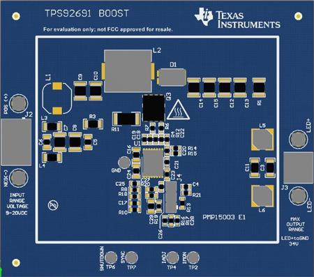 汽車升壓 LED 驅動器設計參考