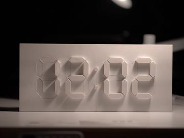基于Arduino和3D打印的动感数字时钟
