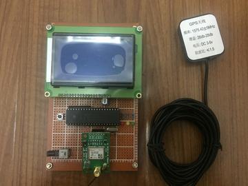 基于51单片机的GPS定位系统设计(带源码+原理图+PCB)