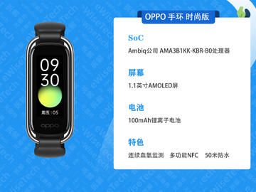 E拆解:OPPO手环时尚版颜值高,内置做工是否好呢?