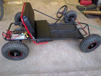 专注于功能设计的Budget Electric卡丁车制作
