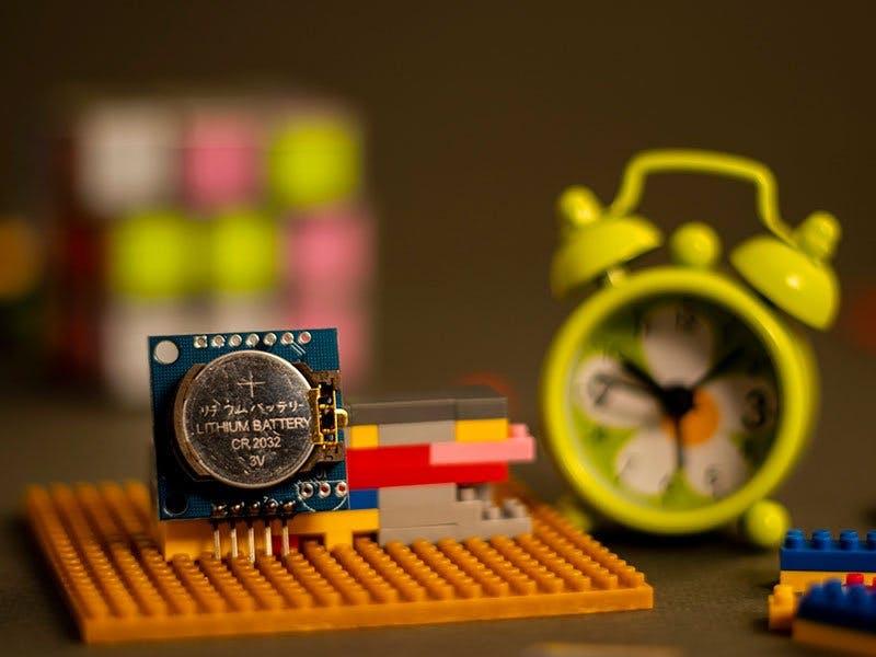 时钟模块设计,将DS1307 RTC模块与Arduino连?#30828;?#36827;行提醒
