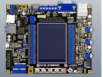 STM32F407ZET6PCB Project  四层STM32F407ZET6开发板PCB