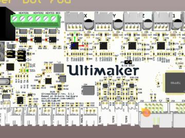 3D打印机驱动电路板 pcb源文件