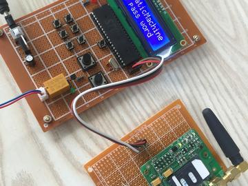 基于51单片机的GSM智能快递柜自助取件系统(原理图+源码)