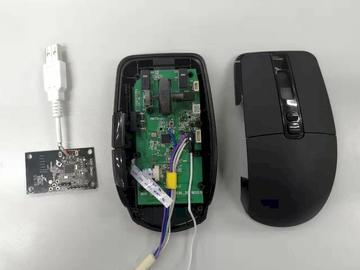 基于 NXP QN9080 的 USB+2.4G+ BLE 三模电竞鼠标方案